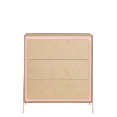 Kabinett Quadrat | Rosa
