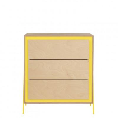 Kabinett Quadrat | Gelb