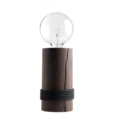 Log Lamp | Dark Oak/Black