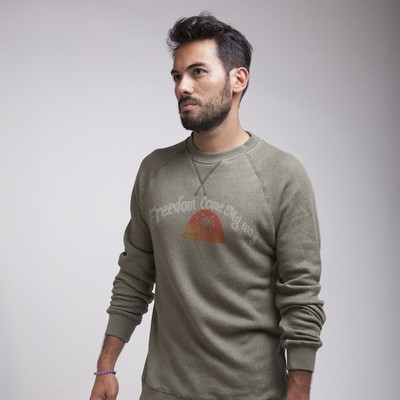 Freedom Come My Way Men's Sweater