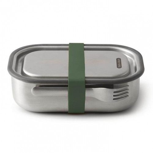 3 in 1 Brotdose vakuumgesichert Large | Olive
