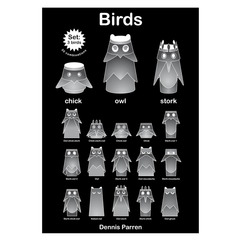 Vögel   Set