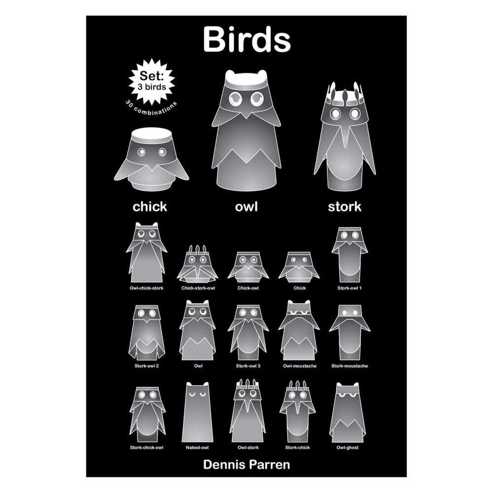 Vögel Lampe | Storch