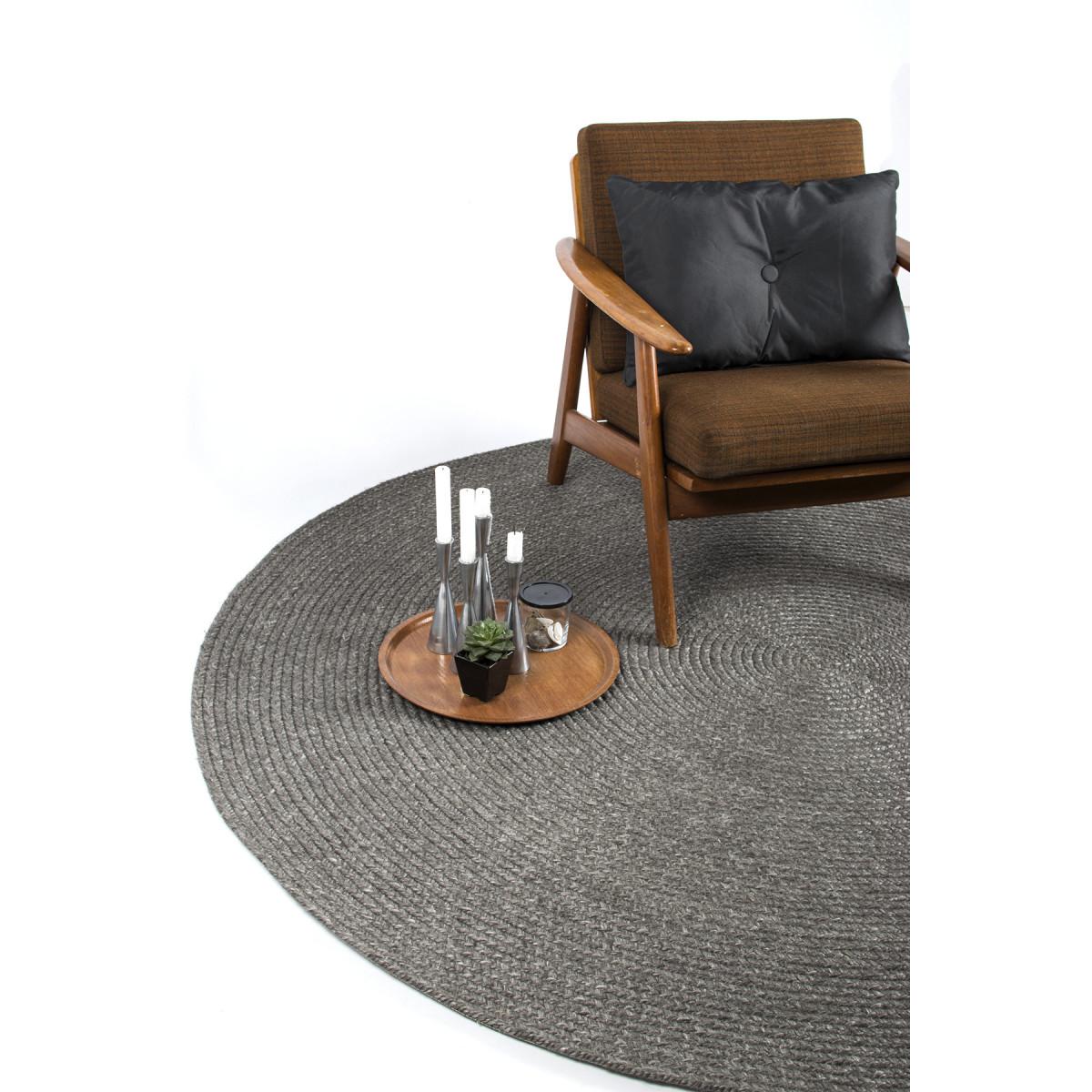 Teppich Stavanger | Dunkelgrau-160 cm
