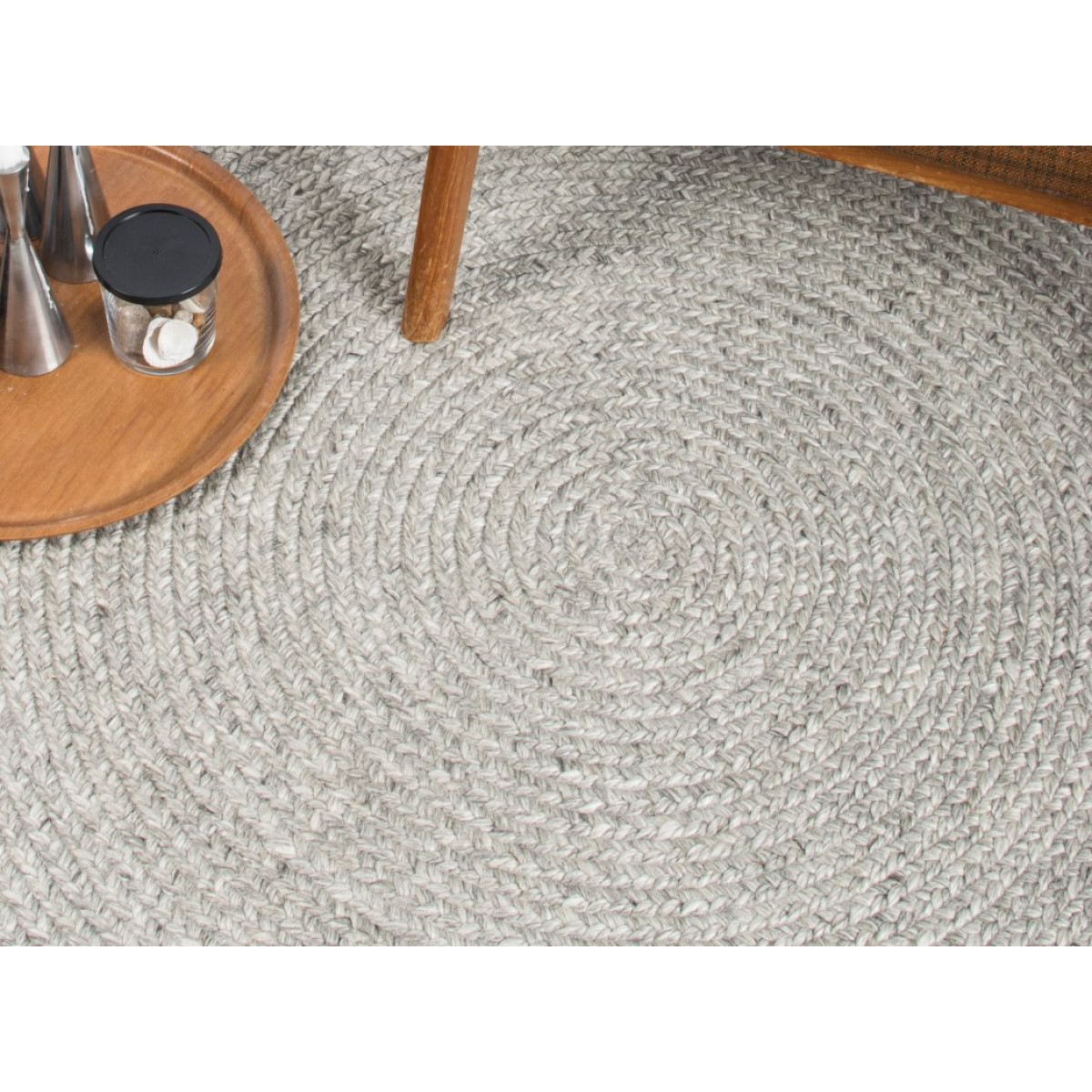 Teppich Stavanger   Silber-200 cm