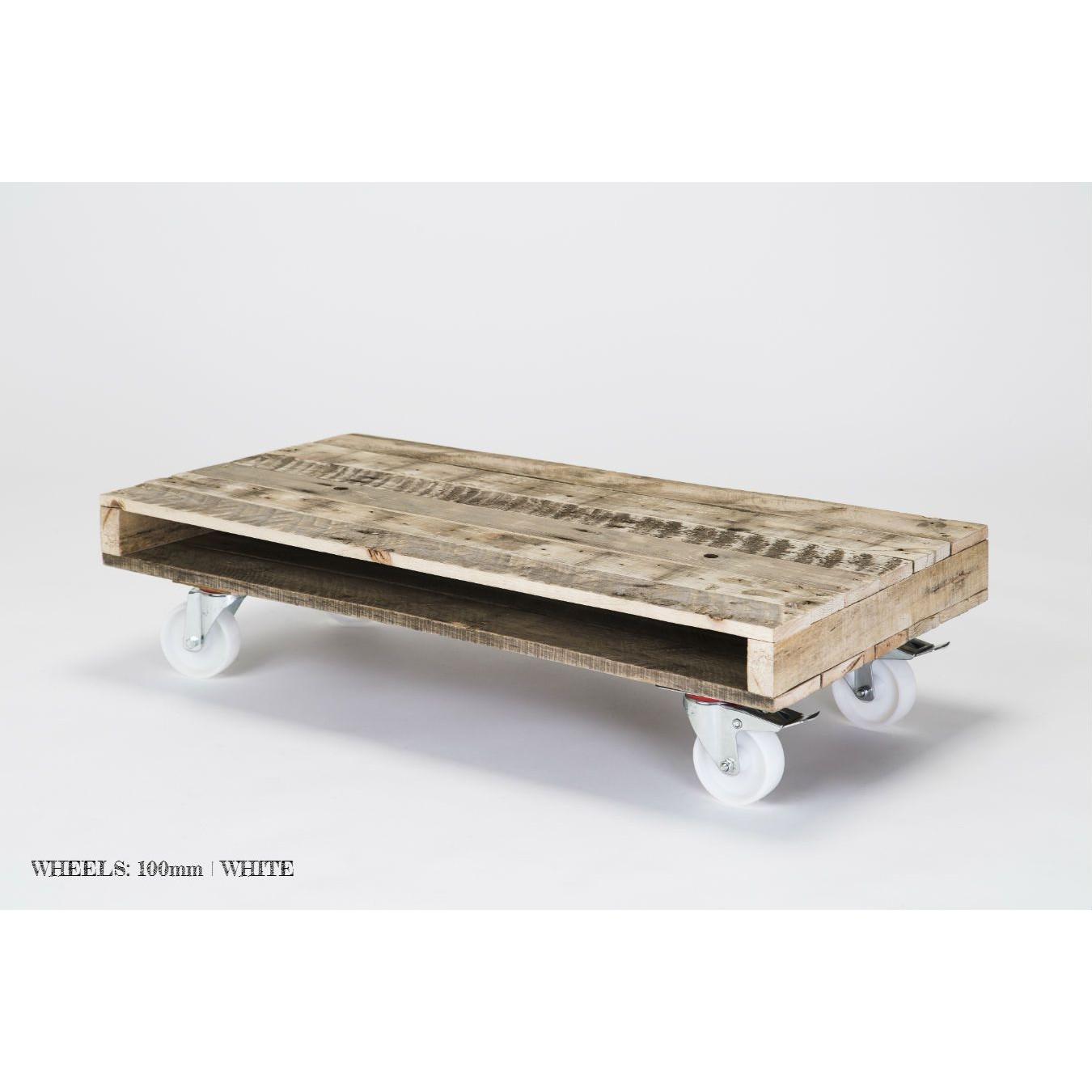 'On Wheels' Coffee Table
