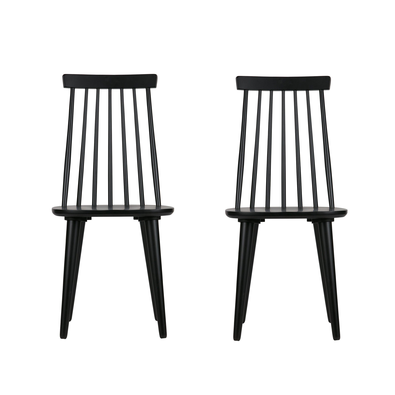 2er-Set Stuhl Sticks | Holz/Schwarz