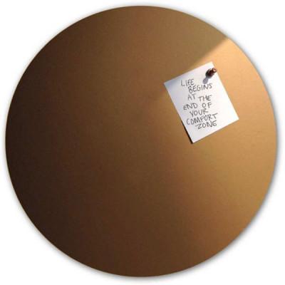 Magnetische Aufkleber Uni | Kupfer