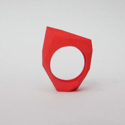 Ring LR Full Small -Red
