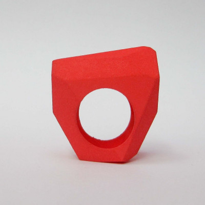 Ring LR Full Big -Red