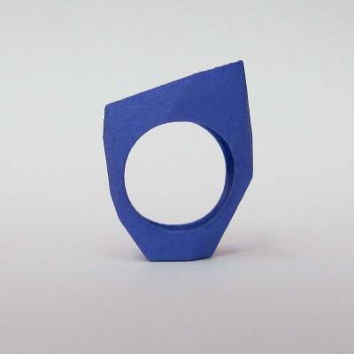 Ring LR Full Small -Blue