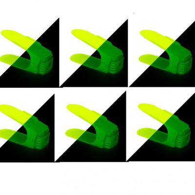 Schuhablage Glow in the Dark | 6er-Set