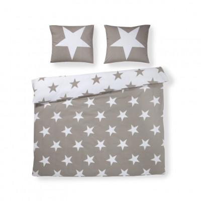 Bettbezug Stars   Beige