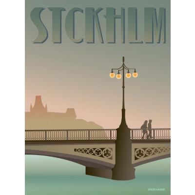 Stockholm Poster   Vasa-Brücke