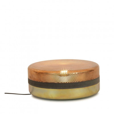 Stahltropfen Große Lampe | Gelb Verzinkt