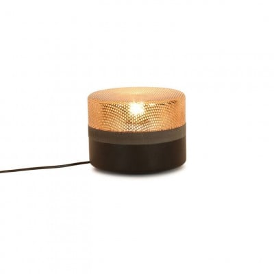 Steel Drop Kleine Lampe | Jet Black Copper