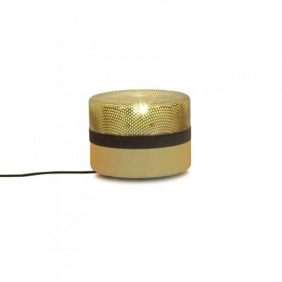 Stahltropfen Kleine Lampe | Gelb Verzinkt