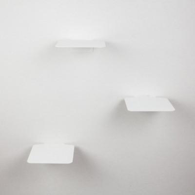 Kletterstufen Katzen Satz von 3 STEPS | Weiß