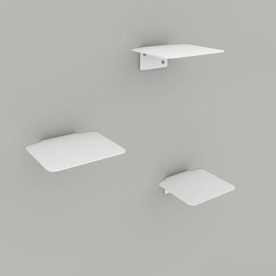 Leiterstufen-Katze 3er-Set   Weiß