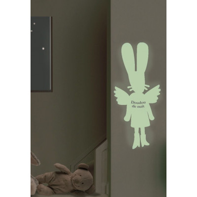 Phosphorescent sticker