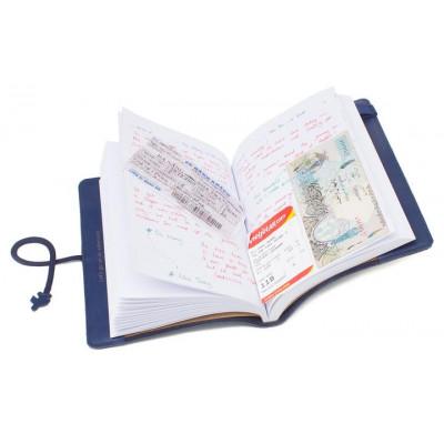 Stitch Reise-Notizbuch   Navy