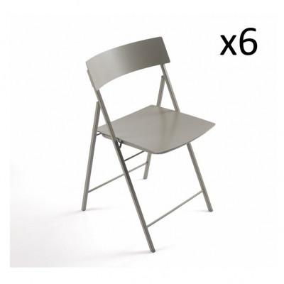 Piper Chair Hellgrau   6er-Satz