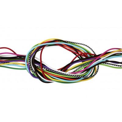 Farbiges Kabel für E-Form-Lampen