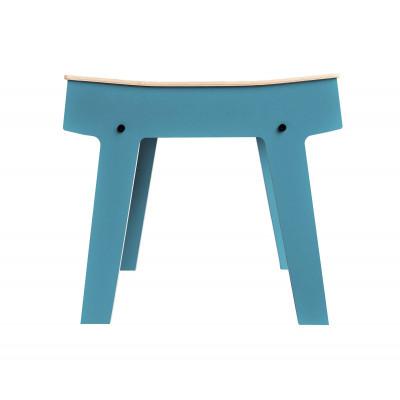 Pi Hocker | Stein Blau Grau