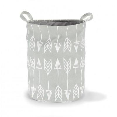 Storage Basket | Arrows Grey