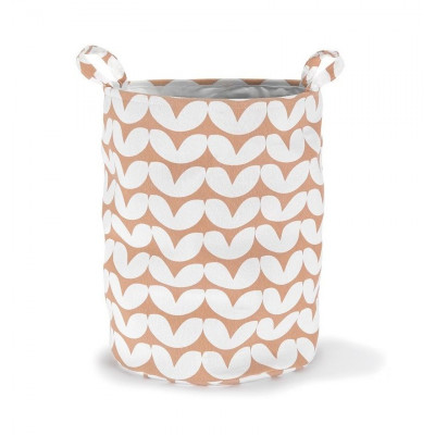 Storage Basket | Hearts Pink