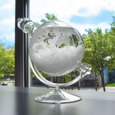 Sturmglas-Wettervorhersage-Globus