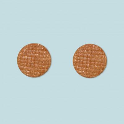 Ohrringe Stroopwafel