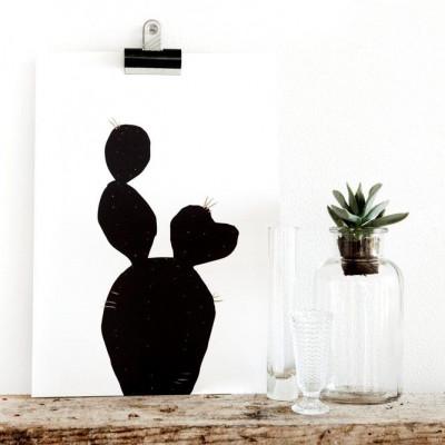 Love Cactus Post Card/Poster