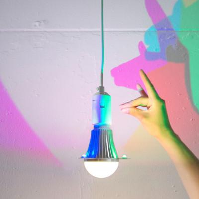 CMYK-Glühbirne