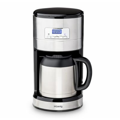 Programmierbare Filterkaffeemaschine Steward   Silber