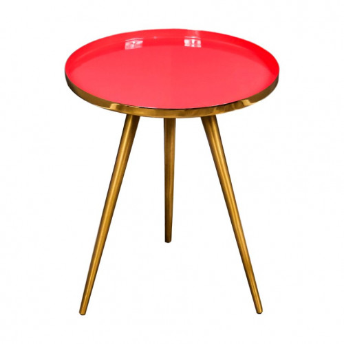 Side Table   Coral