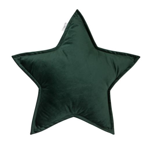 Kissen Little Star Velvet | Grün
