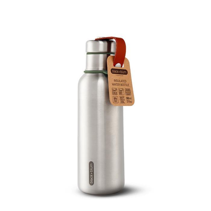 Isolierte Wasserflasche Medium   Olive