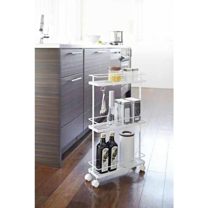Storage Cart Tower | White