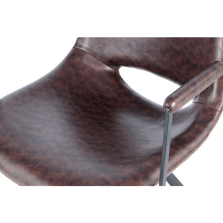 Chaise Hagga 8.0 Set de 2 | Brun