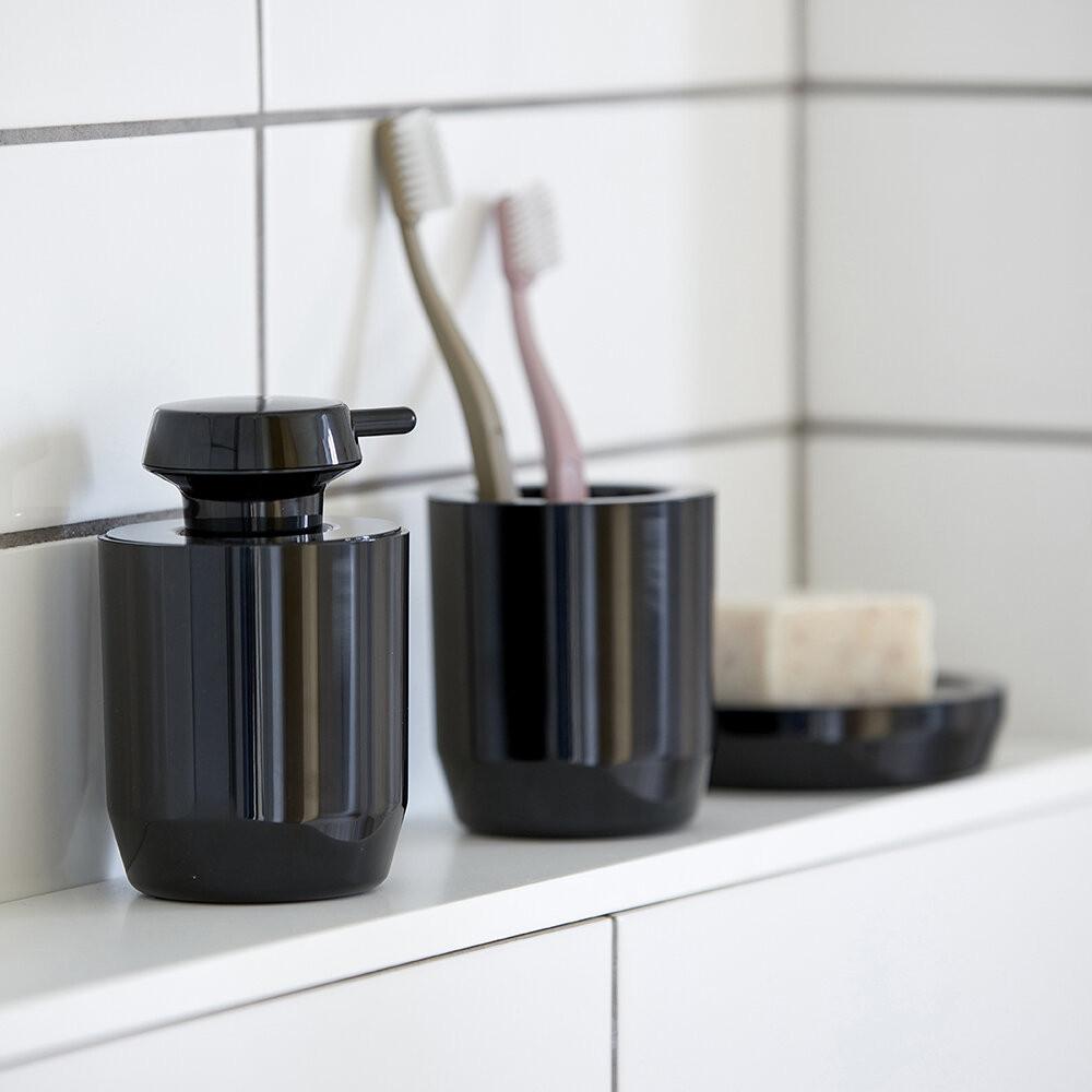 Tasse à Brosse à Dents 9 cm SUII | Noir