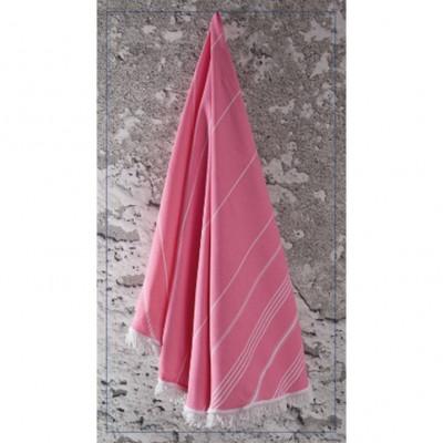Rundes Handtuch Sultan   Pink