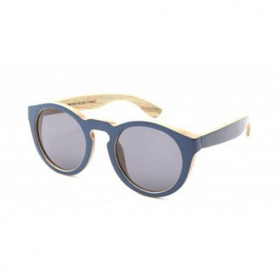 Summer Love Wooden Sunglasses   Blue Klein
