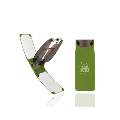 Solar-Feuerstarter Suncase Gear | Grün