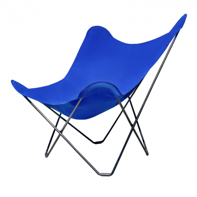 Outdoor Butterfly Chair Sunbrella | Atlantic Blue