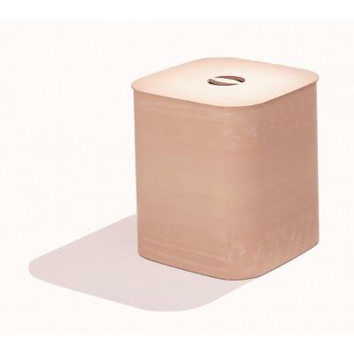 Quadratischer Behälter/Hocker Suomi | Natur