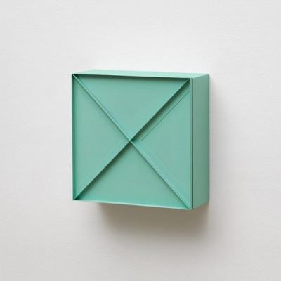Superschmaler Schrank   Grün