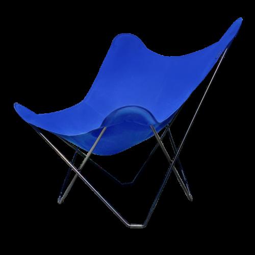 Stuhl Butterfly  für Draußen | Atlantisches Blau