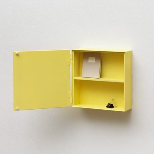 Super Narrow Cabinet | Yellow