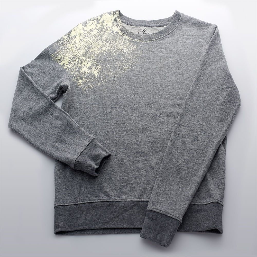 Sweater | Dark Grey - Gold - Shoulder